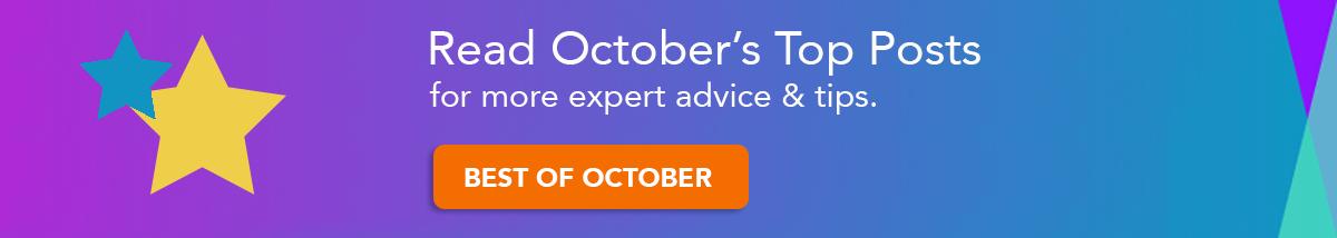 Read October's Top Posts