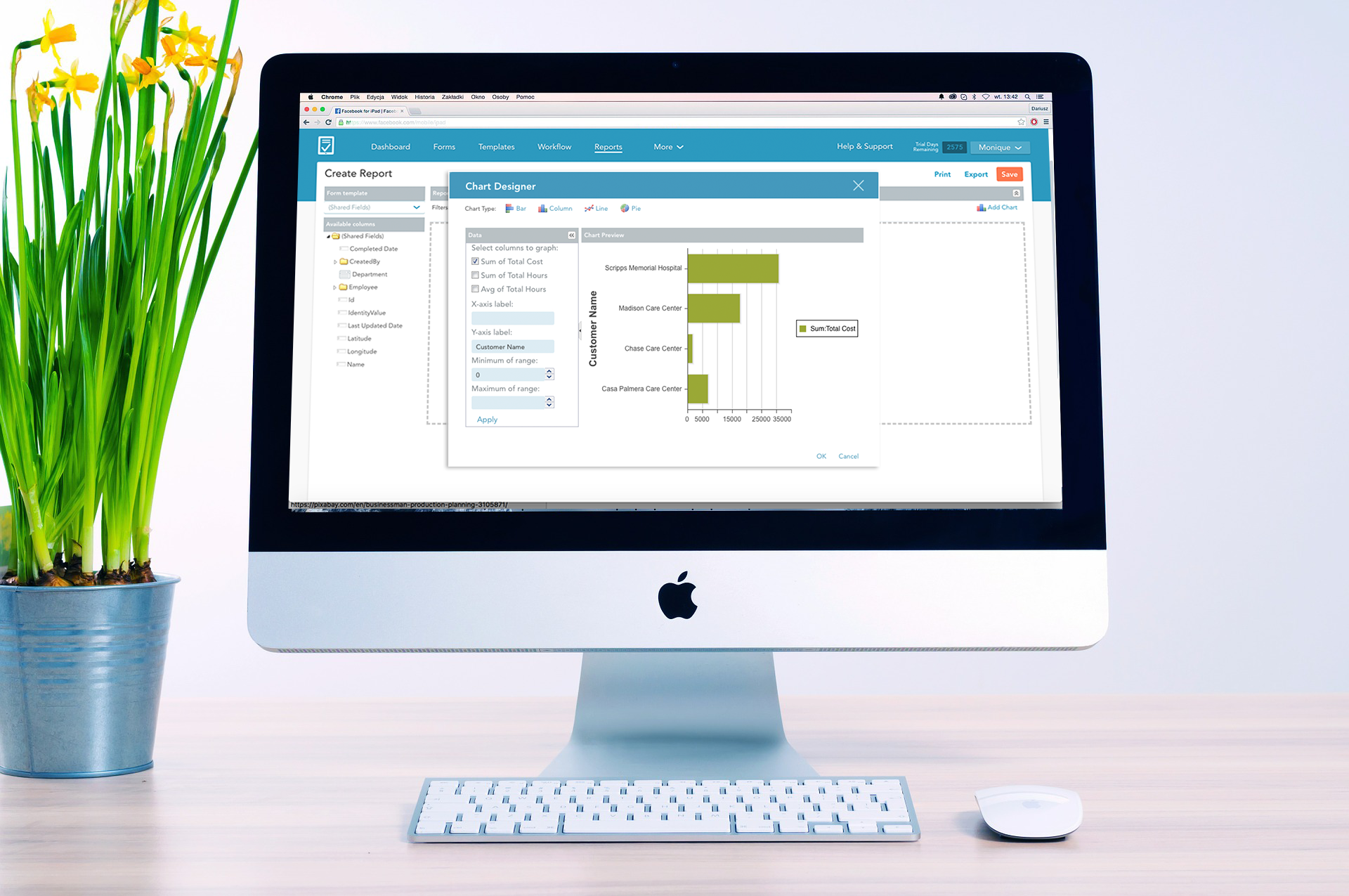 Real time reports improve operational insights