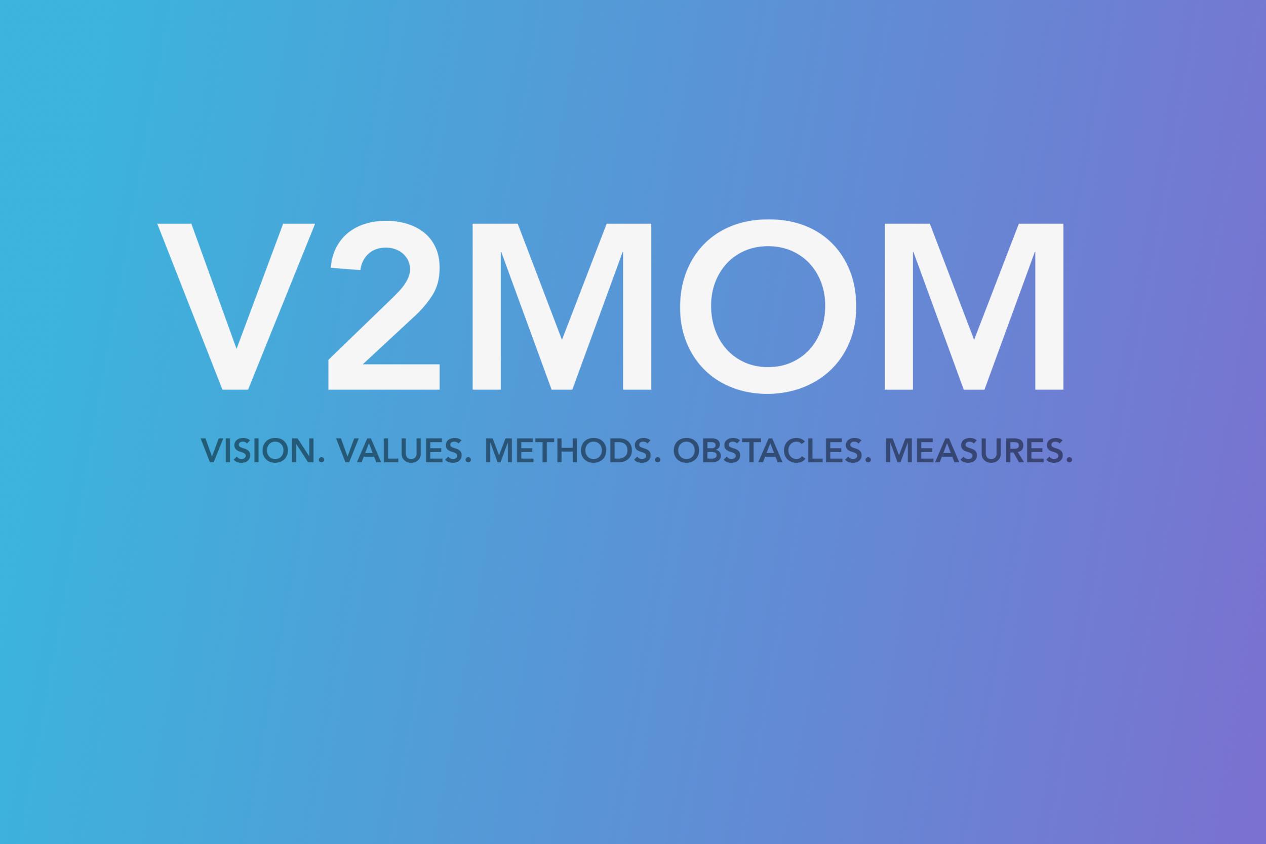 V2MOM aligning company goals