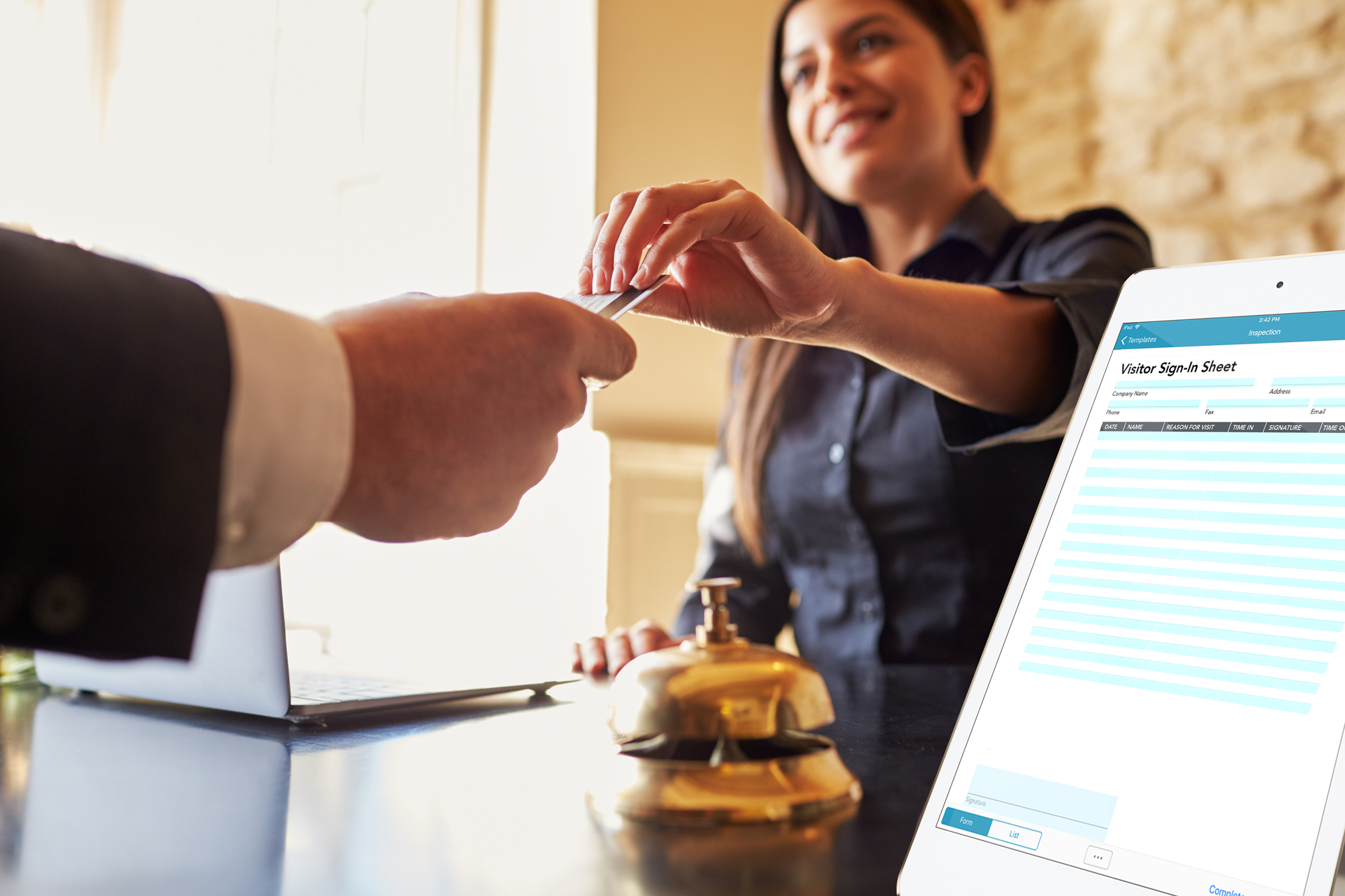 Use digital hospitality forms and hospitality checklists to elevate your customer service, safety inspections and more