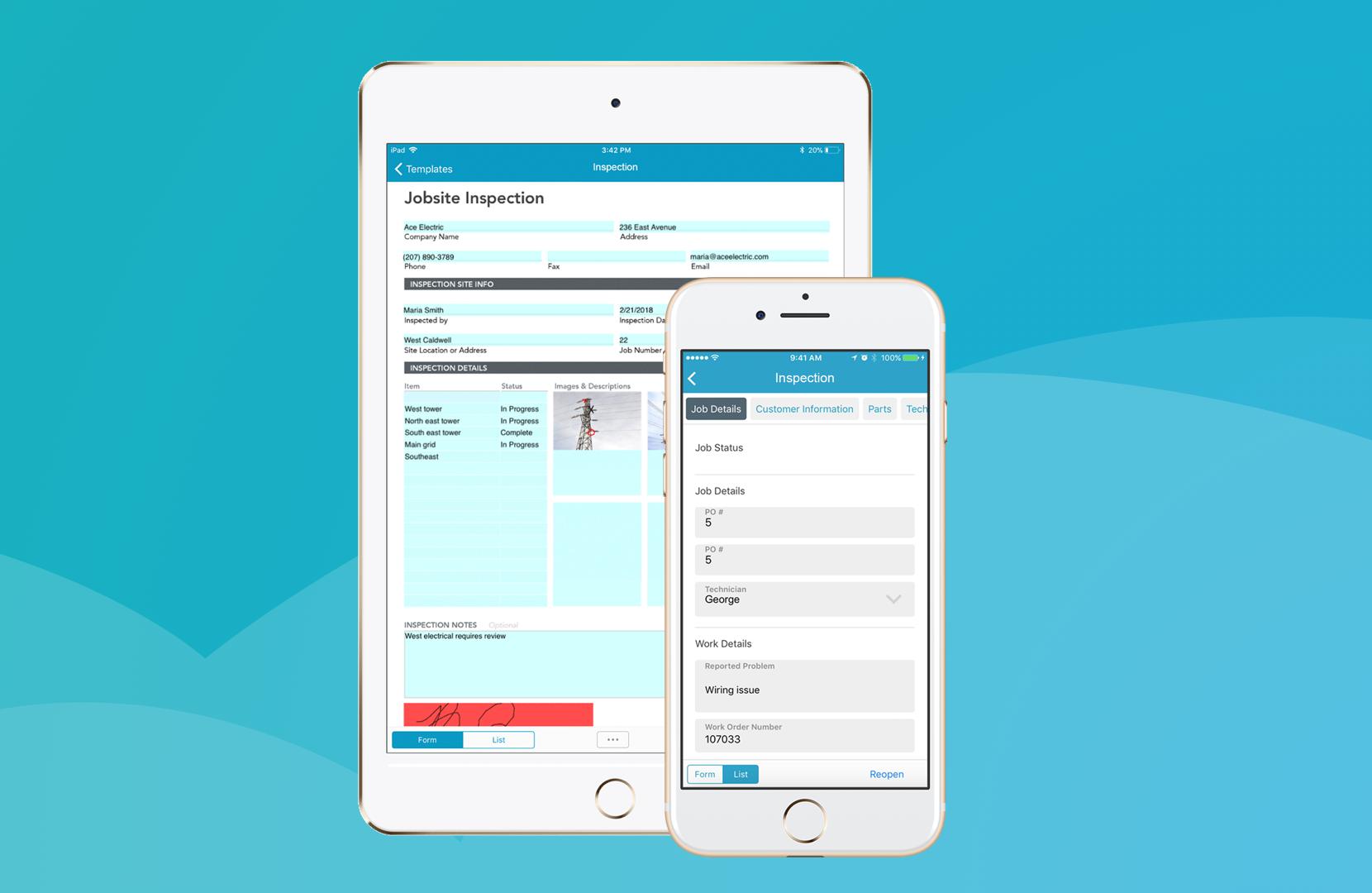 GoFormz mobile forms streamline and simplify your workflow