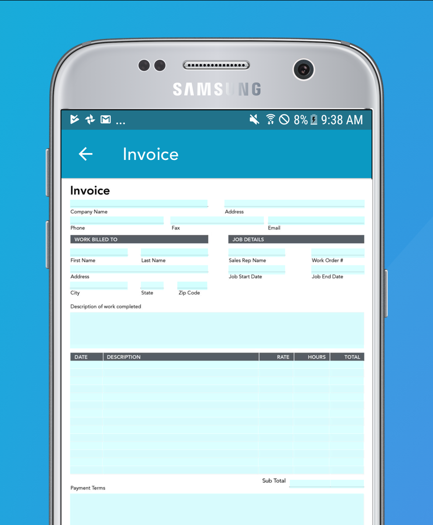 Accelerate your billing cycle with digital invoices and automated workflows