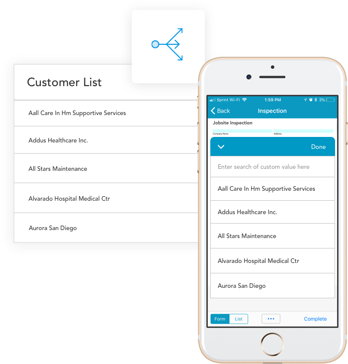 Mobile forms buyers guide: pre-fill fields with customer data