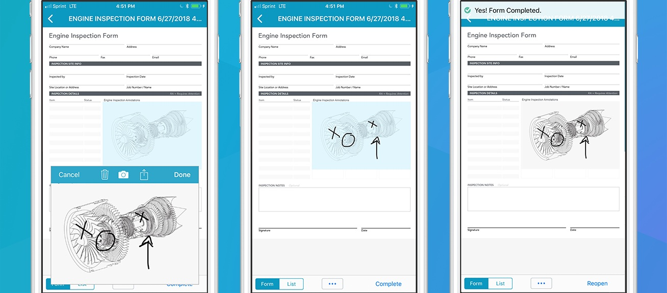 Leverage digital wind energy forms to capture inspection information with new data types