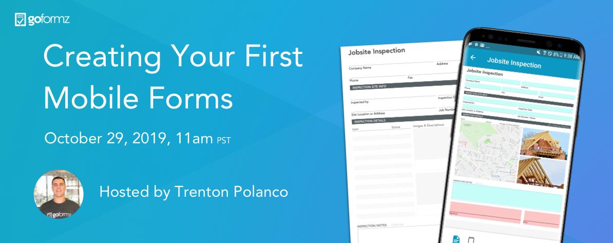 Click here to save your spot for our upcoming webinar, 'Creating Your First Mobile Forms'