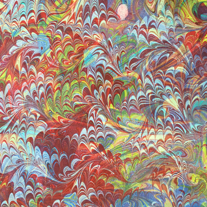 Overmarbled (pattern over pattern)