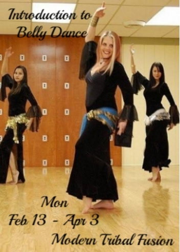 Intro to Belly Dancing - Mondays Feb 18 - Apr 3