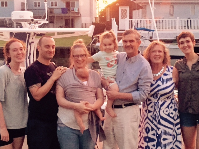 Part of my beloved family! It's hard to get a picture that includes all of us!