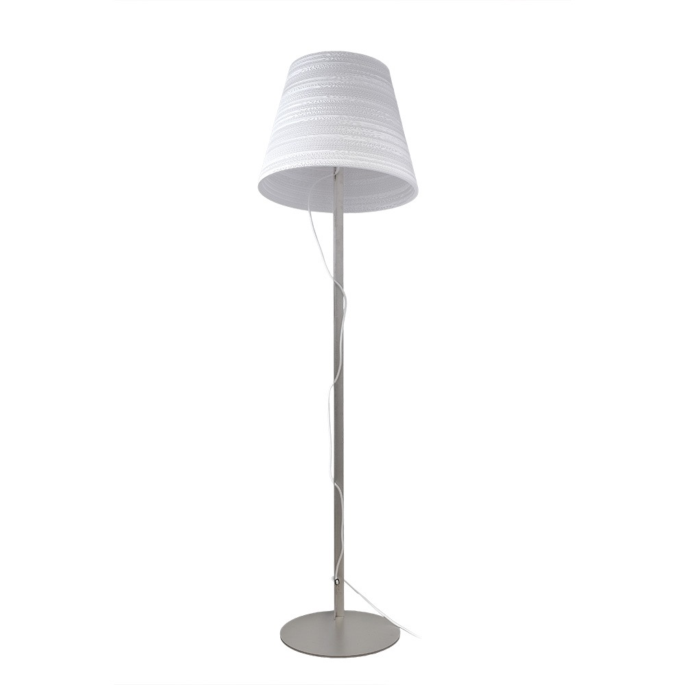 Copy of Tilt Scraplight Floor Lamp White