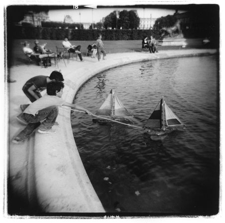 """Sunday Skippers,  silver gelatin print, 20"""" x 16"""" matted,  $225"""