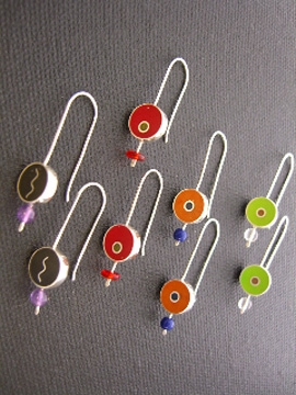 long stem earrings