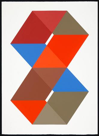 """Boss , John Guthrie, acrylic on paper, 32"""" x 24"""" framed, $1,900"""