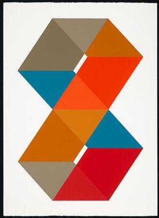"Golddigger , John Guthrie, acrylic on paper, 32"" x 24"" framed, $1,900"