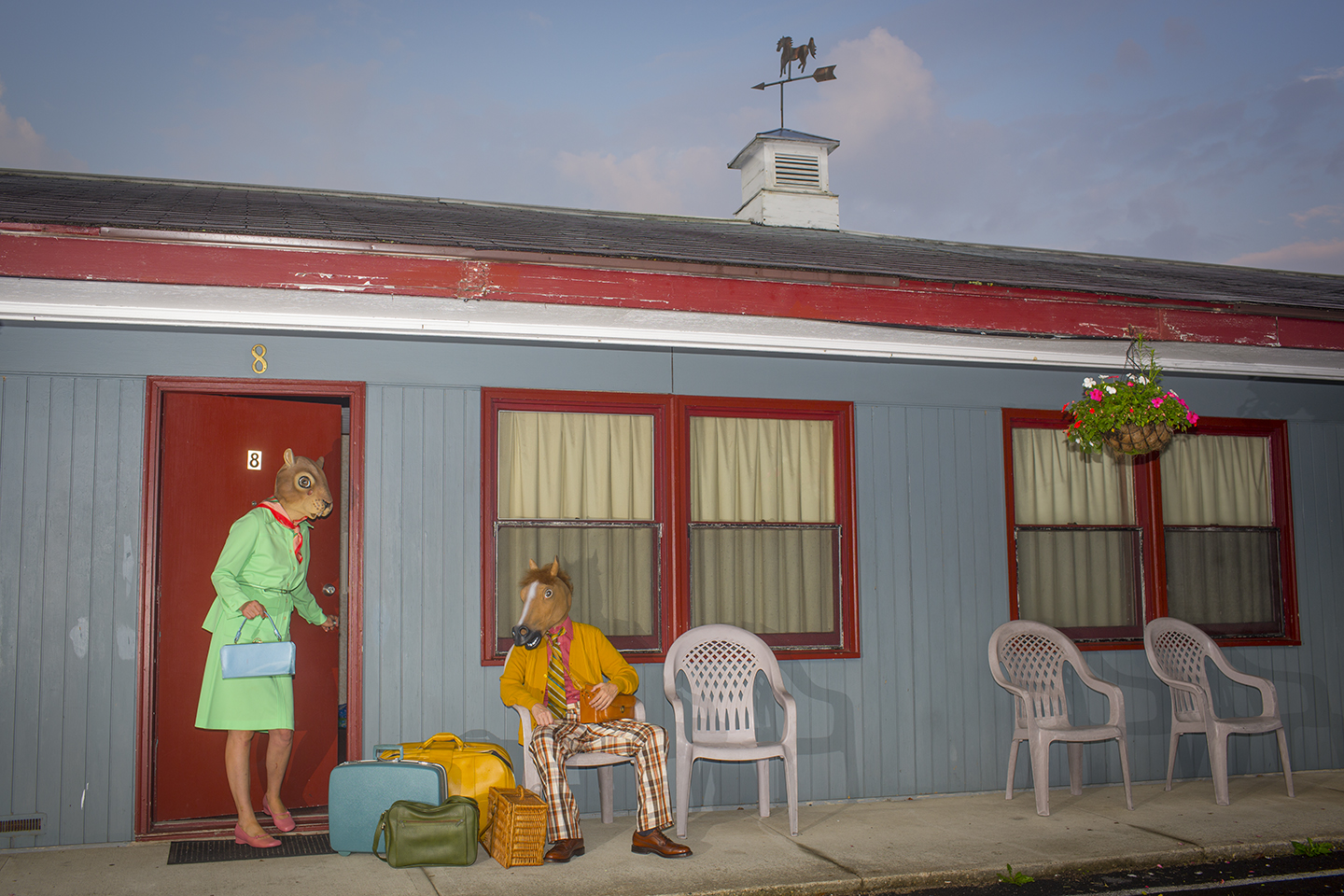 "Horace and Agnes: Pleasant Valley , digital archival inkjet print, 13"" x 19"", $285"