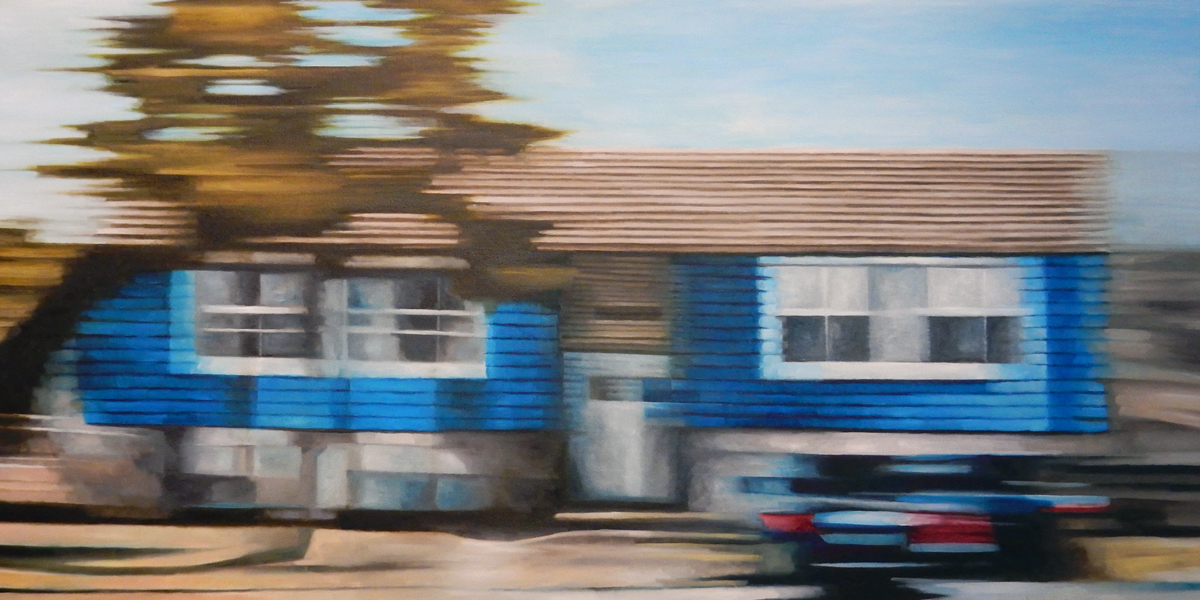 "David Palmquist,  Rolling Meadows , oil on canvas, 29 3/4"" x 53 3/4"", $2,750"