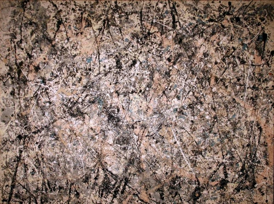 Jackson Pollock, Lavender Mist , 1950