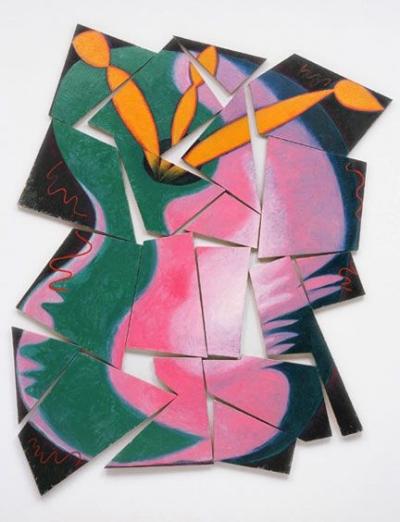 Elizabeth Muray, Painter's Progress , 1981