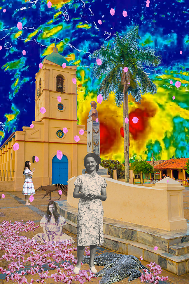 "Allison Maria Rodriguez ,  In the Presence of Absence - Rose and Matthew , digital video still, 14 3/4"" x 11 1/4"" framed, $250"