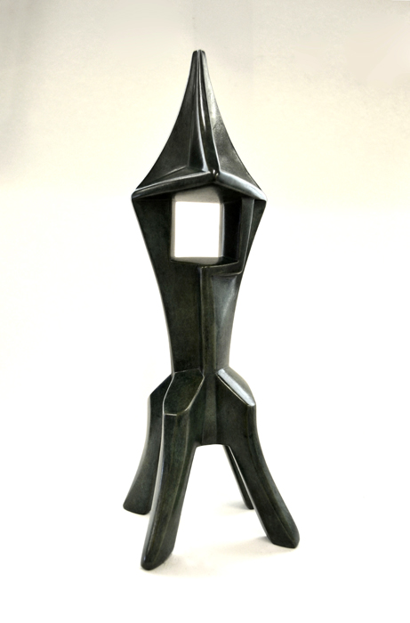 "Peter DeCamp Haines ,  Tower for a Fairy Tale (1/5) , bronze, 15"" x 5"" x 4 ½"", $1,850"