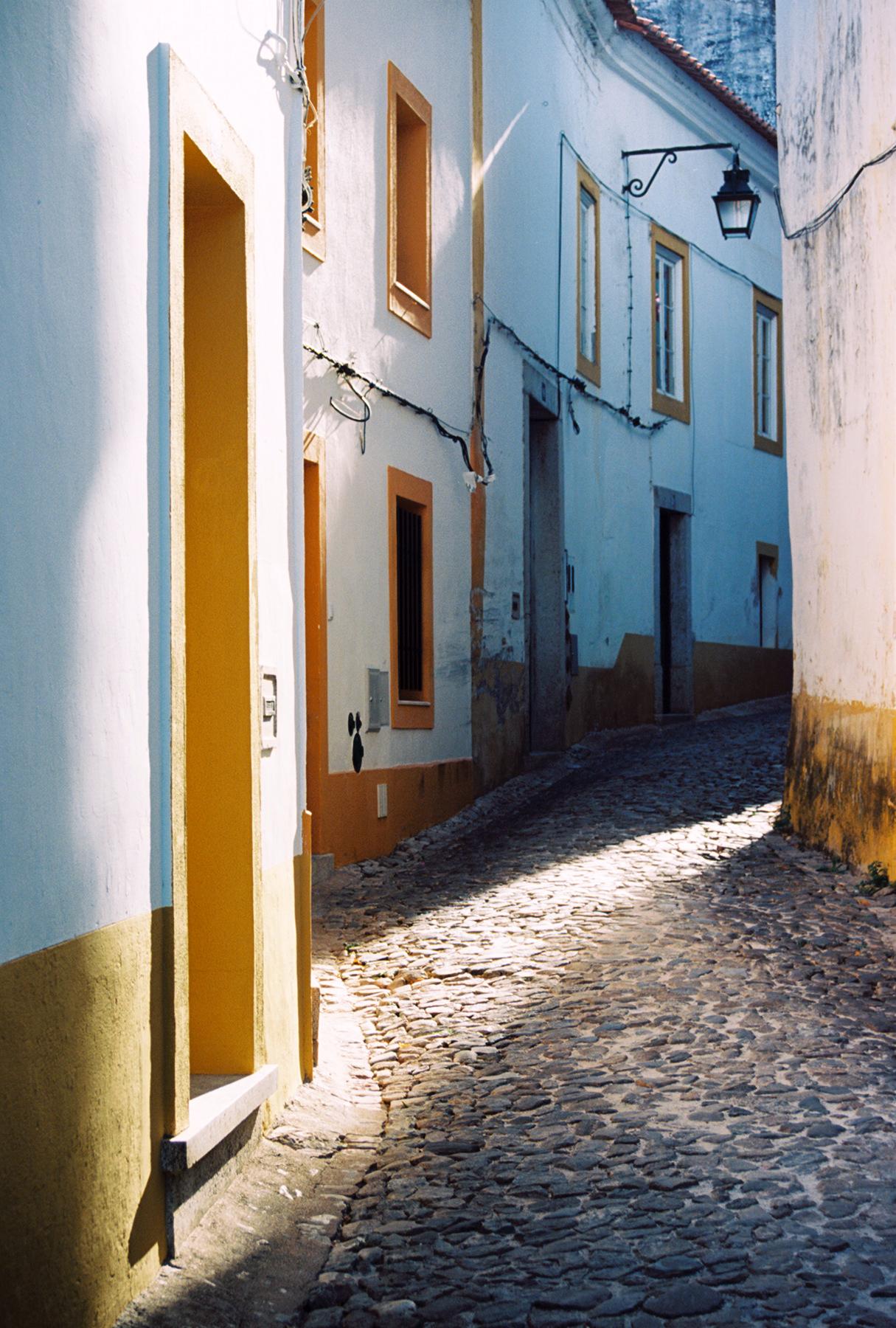 """Jennifer Uhrhane, Évora #1, Portugal (1/10) , analog c-print from color negative ,  21 ½"""" x 17"""" framed,$425"""