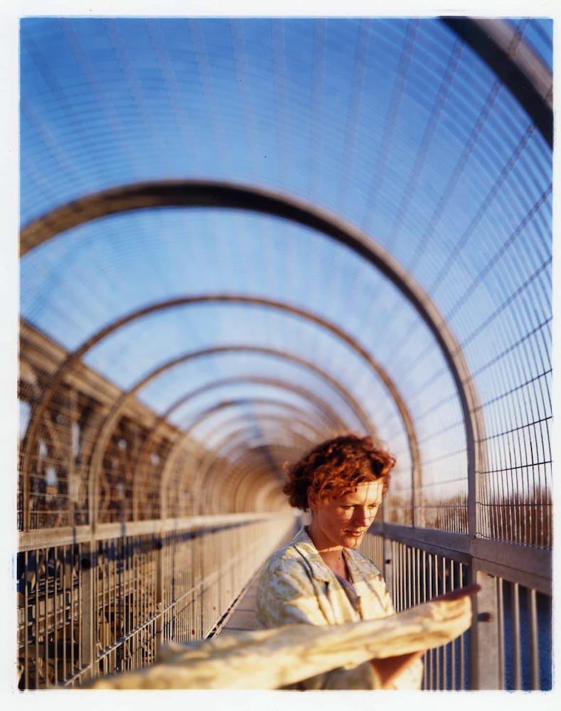 "Bridget & I: Bridge , digital archival inkjet print, 24"" x 20"" framed, $1,200"