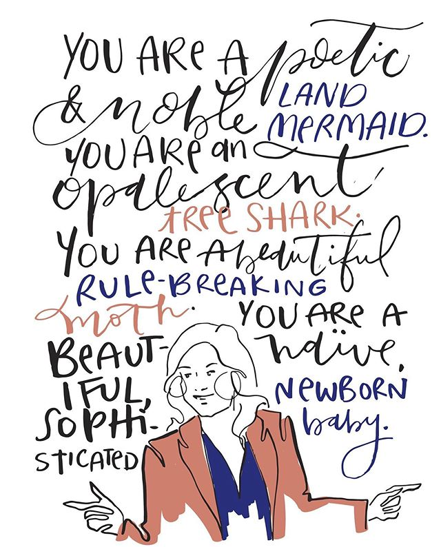 "c a r d  o f  t h e  d a y Affirmations from Leslie Knope to give you the confidence you need to ask for that raise. ""I'm big enough to admit that I often inspire myself"" -LK  #womensequalityday #feministstationery #leslieknope #parksandrec #spottedkettlestudio #illustration #illustrator #graphicdesigner #fashionillustration #fashionillustrator #paperdesigner #stationery #dailydoseofpaper #stationeryaddict #womanowned #womanmade #paper #artvartist #smallbusiness #wastenotpaper #handlettering #moderncalligraphy #brushlettering #fortheloveofpaper #paperaddict"