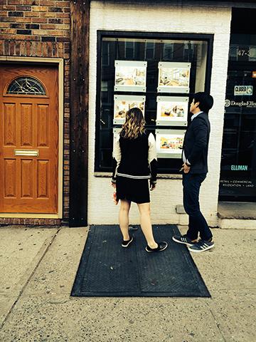 Photo by Maria Haro. Poem by Claudia Serea. Long Island City, NY.