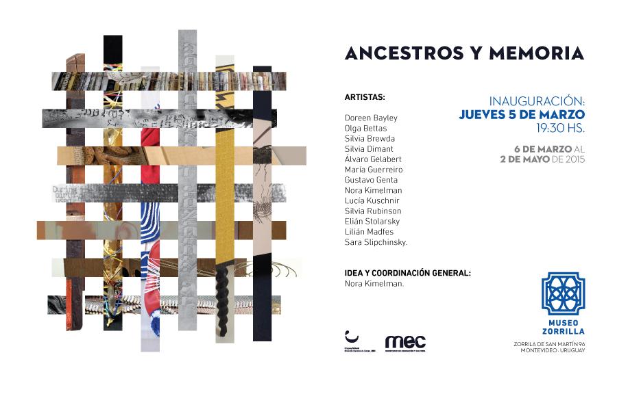 Invitación Ancestros y Memoria