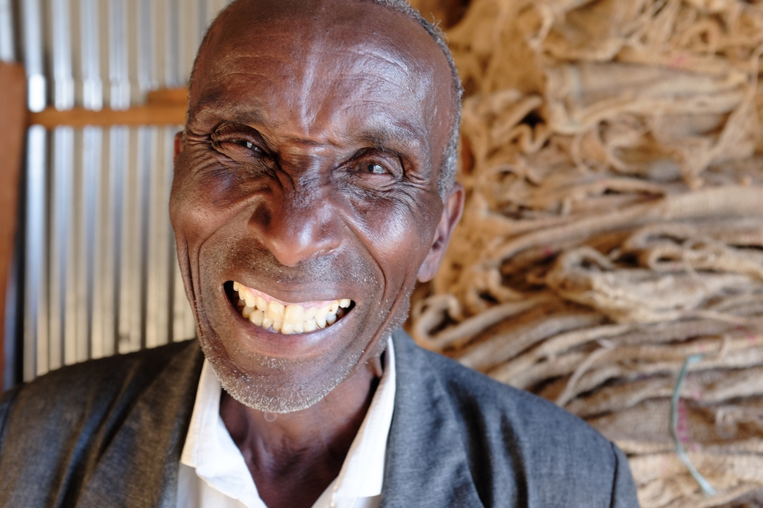 Ato Zodi, Operations Manager; very experienced in working in coffee around Ethiopia.