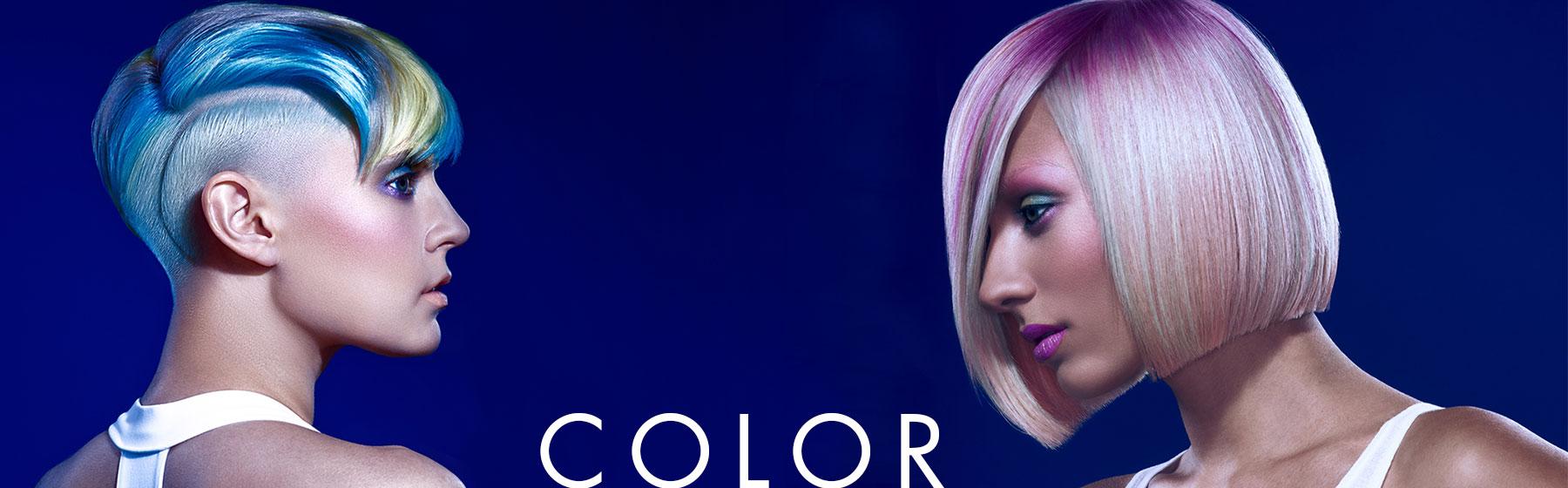 hair color services at HAUS Salon