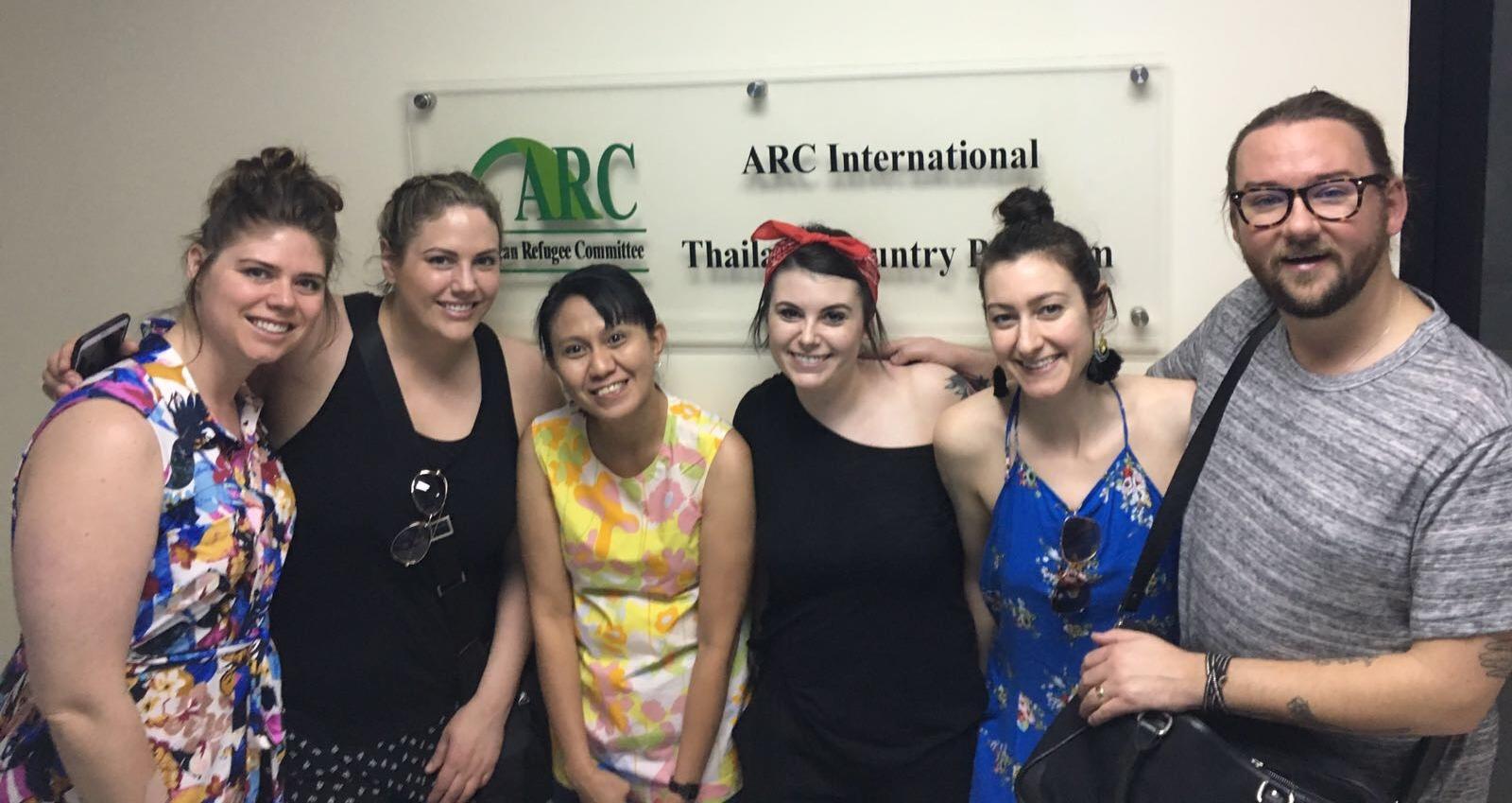 HAUS team in Thailand ARC office