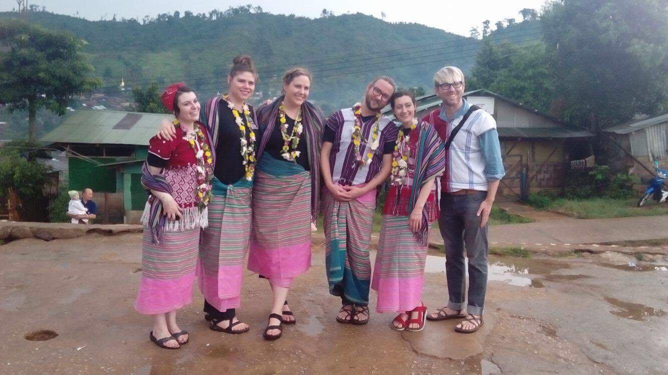 team in Thailand