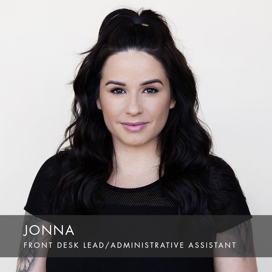 Copy of Jonna at HAUS Salon, Front Desk Lead