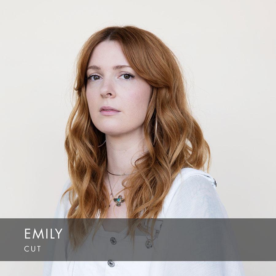 Emily at HAUS Salon