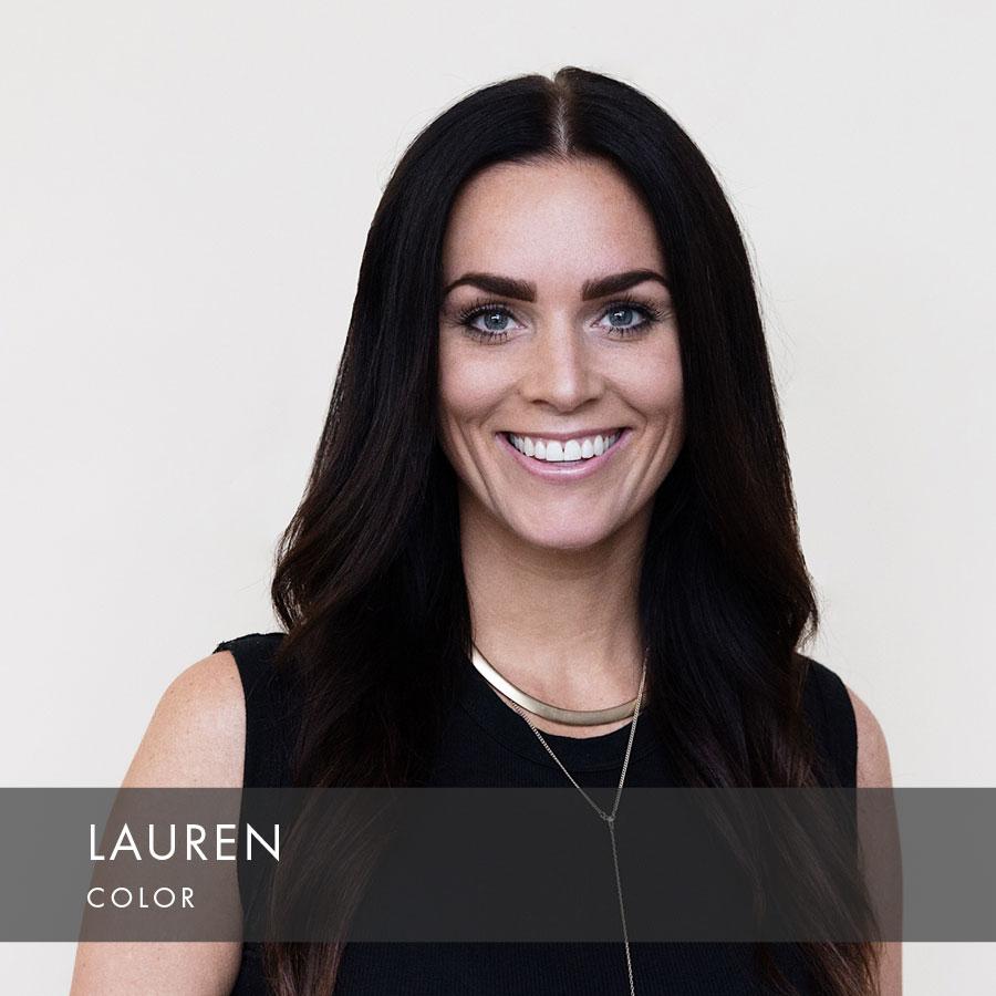 Lauren at HAUS Salon