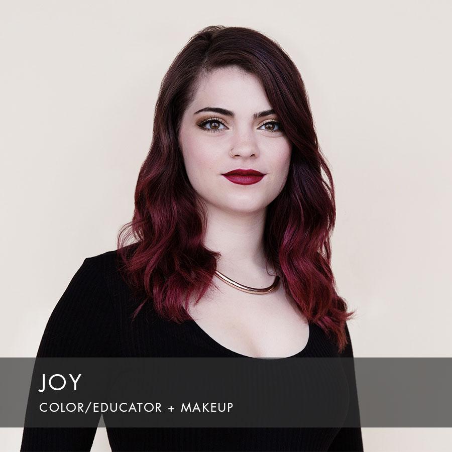 Joy at HAUS Salon
