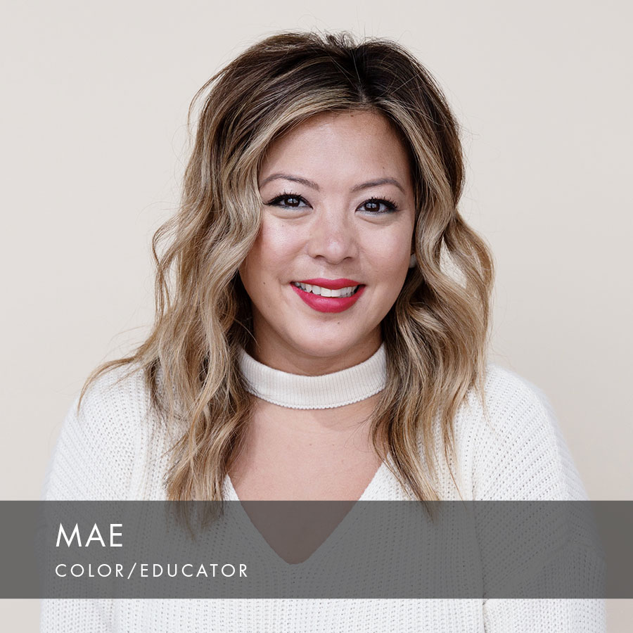 Mae at HAUS Salon