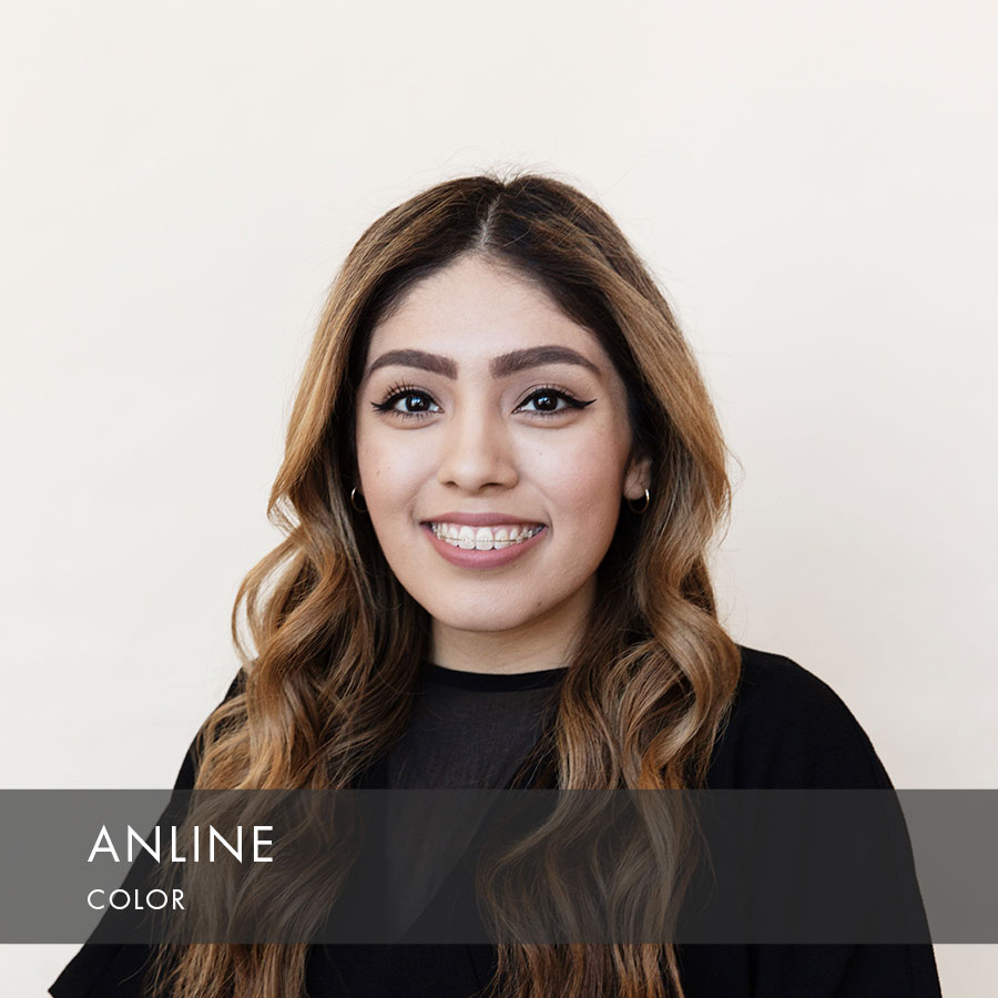Anline at HAUS Salon