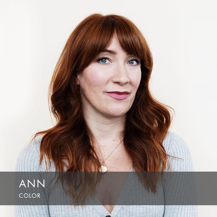 Ann at HAUS Salon