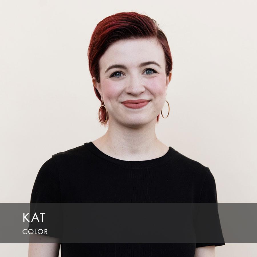 Kat at HAUS Salon