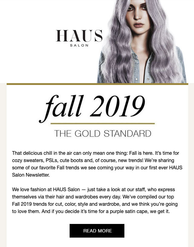Fall 2019 News Trends from HAUS Salon