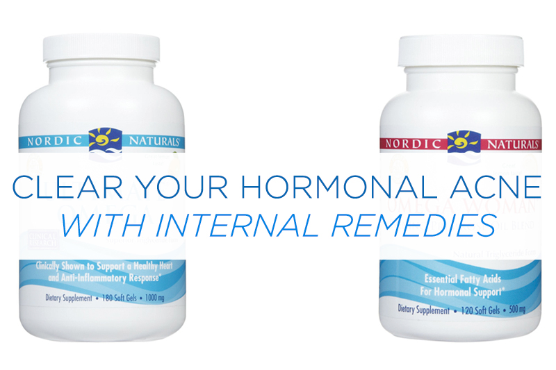 Cycle supplements to clear up hormonal acne