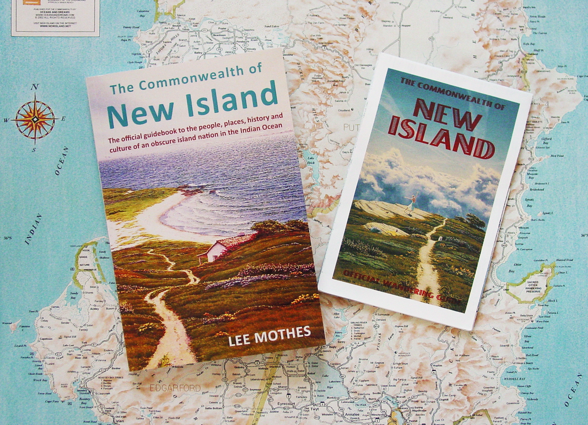 Available now for $27.95. To order a copy, with the map included for free, contact Lee Mothes by E-mail at mothesart@gmail.com.