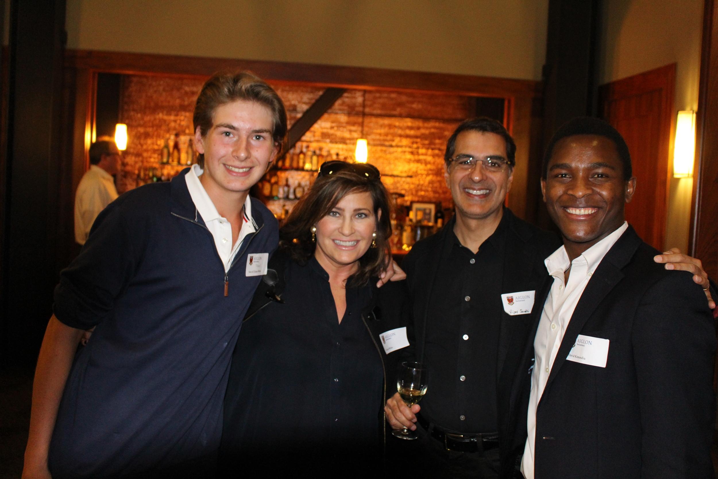 Mark, Liliana, Vijay, and David
