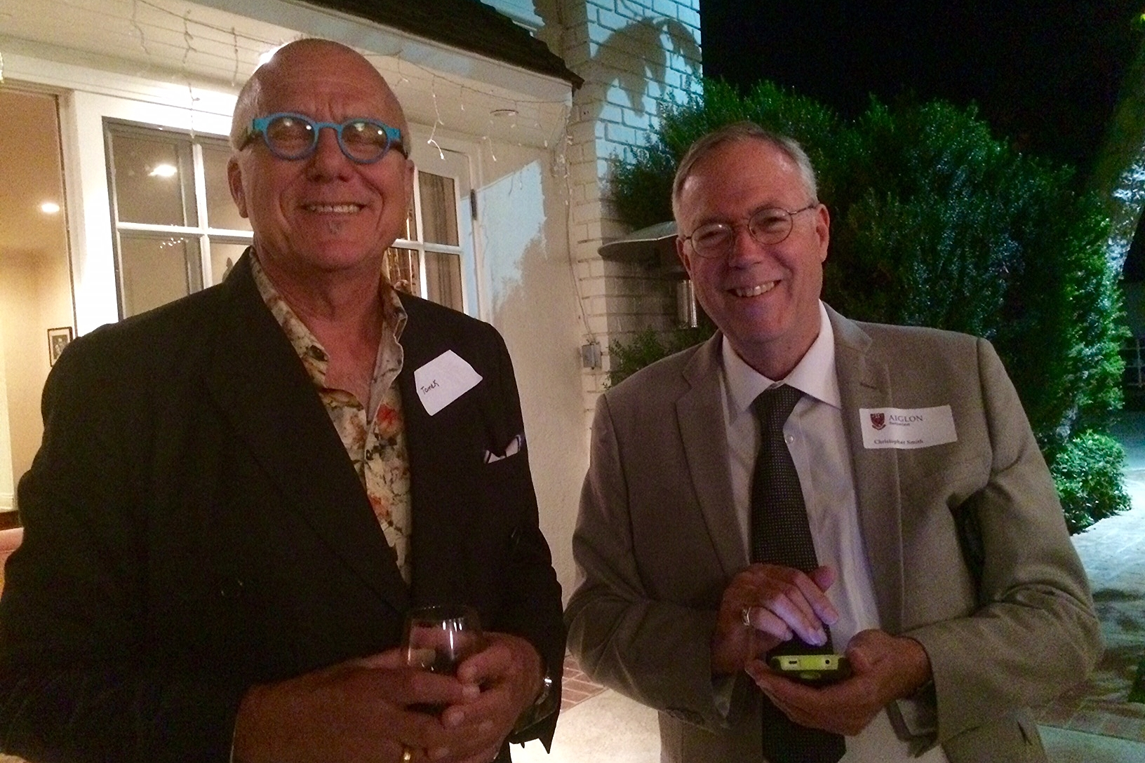 The Los Angeles October 2015 Reception, hosted by alumna Cecilia Peck Voll, Aiglon College, and the FOAC (U.S.)