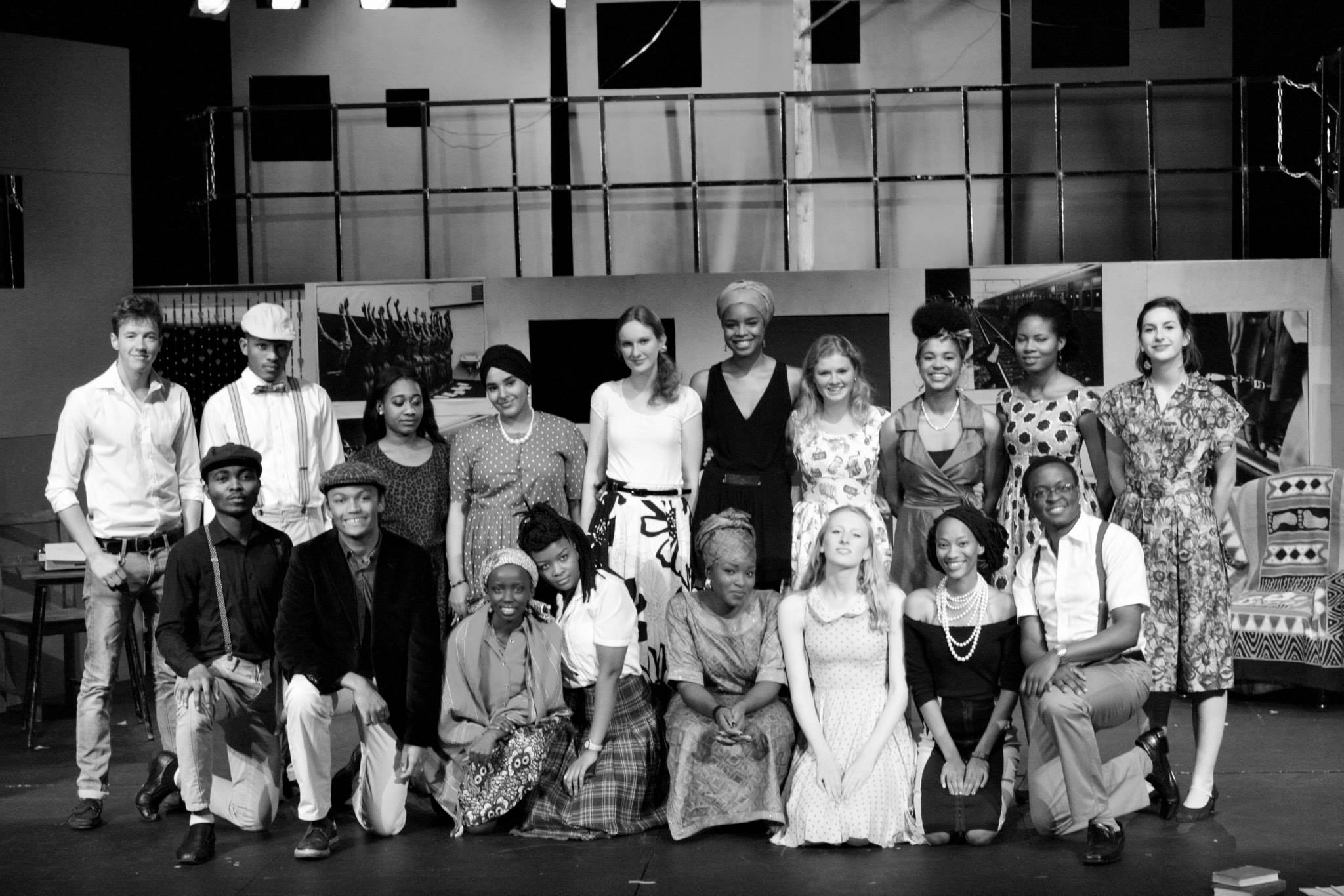 Sophiatown Cast. Photo Credit Selina Komers