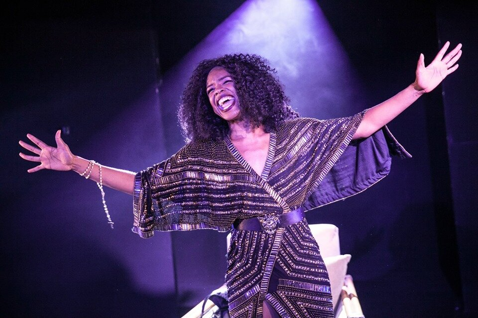 Sister Act the Musical, Vaults Theatre 2019, dir. Cameron Menzies  Copyright, Sheila Burnett Photography