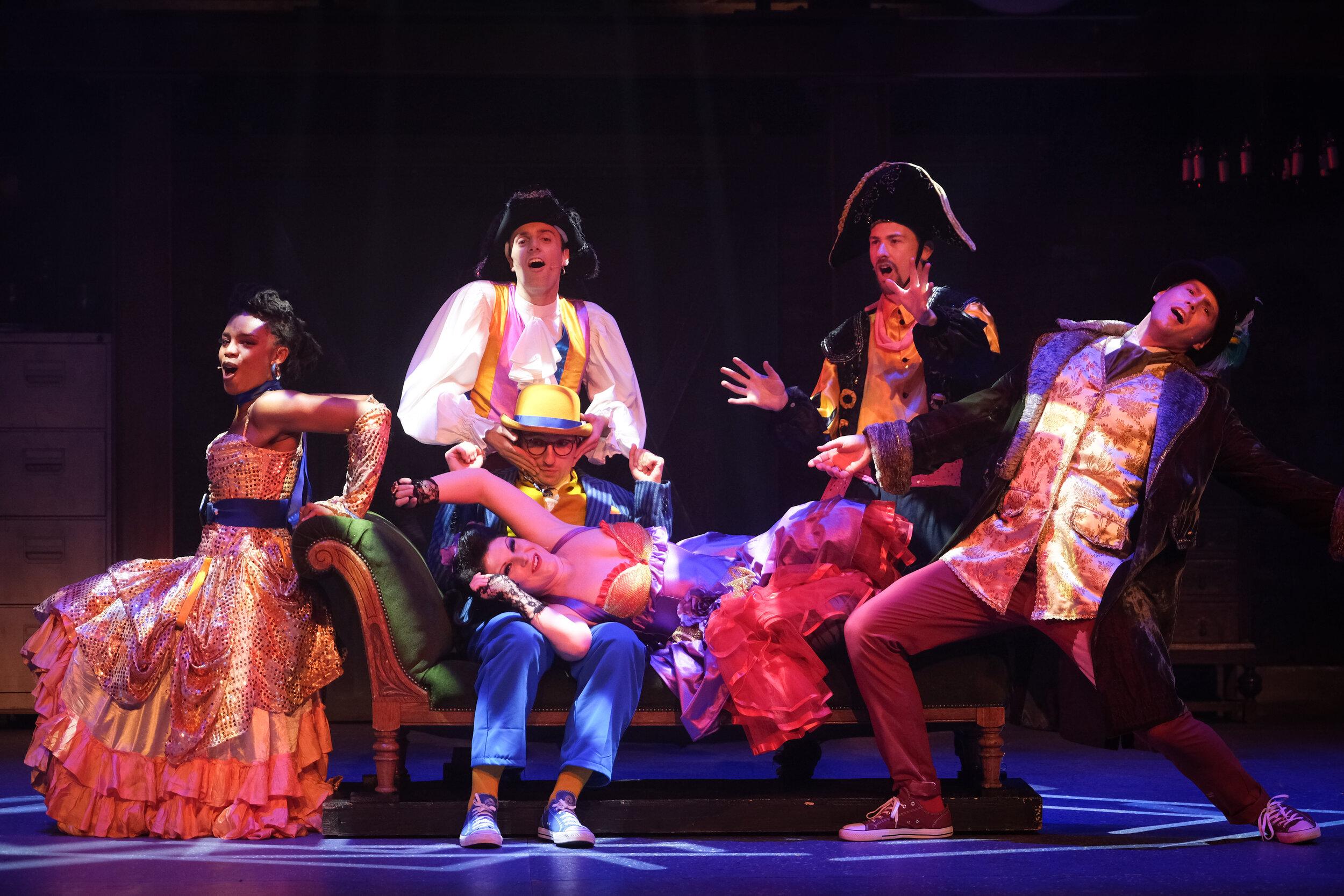 © Around The World in 80s Days | Credit: Blackpool Grand Theatre | Photographer Martin Bostock