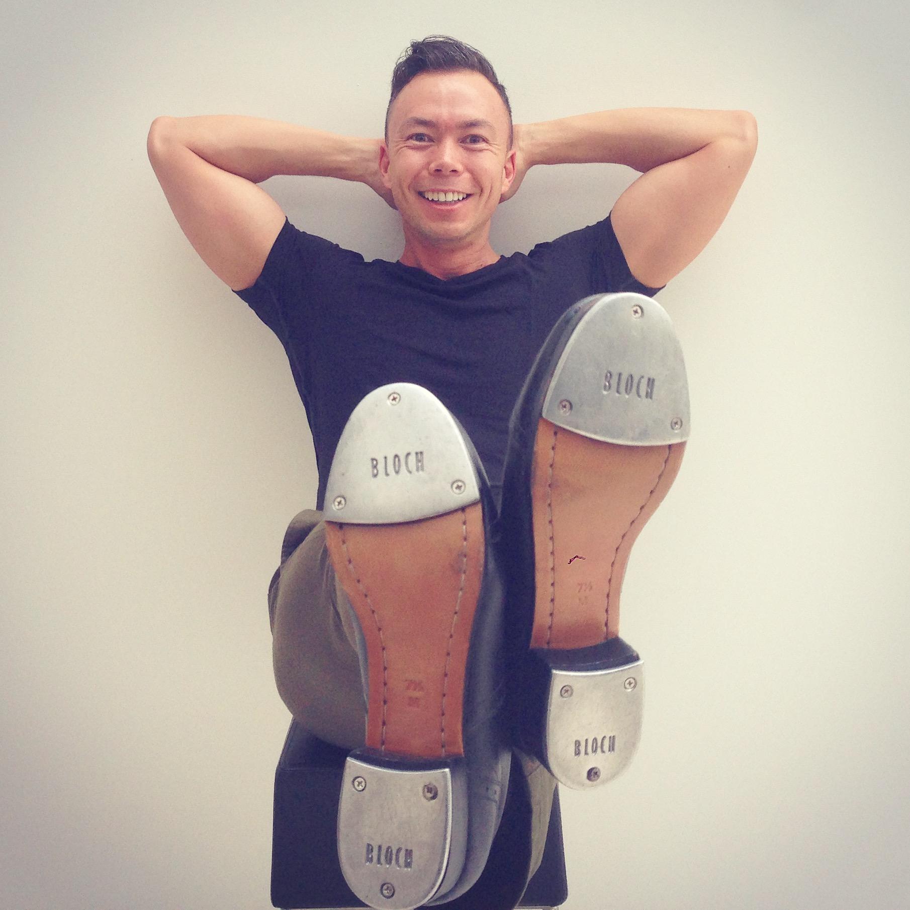 Tenor in Tap Shoes.JPG
