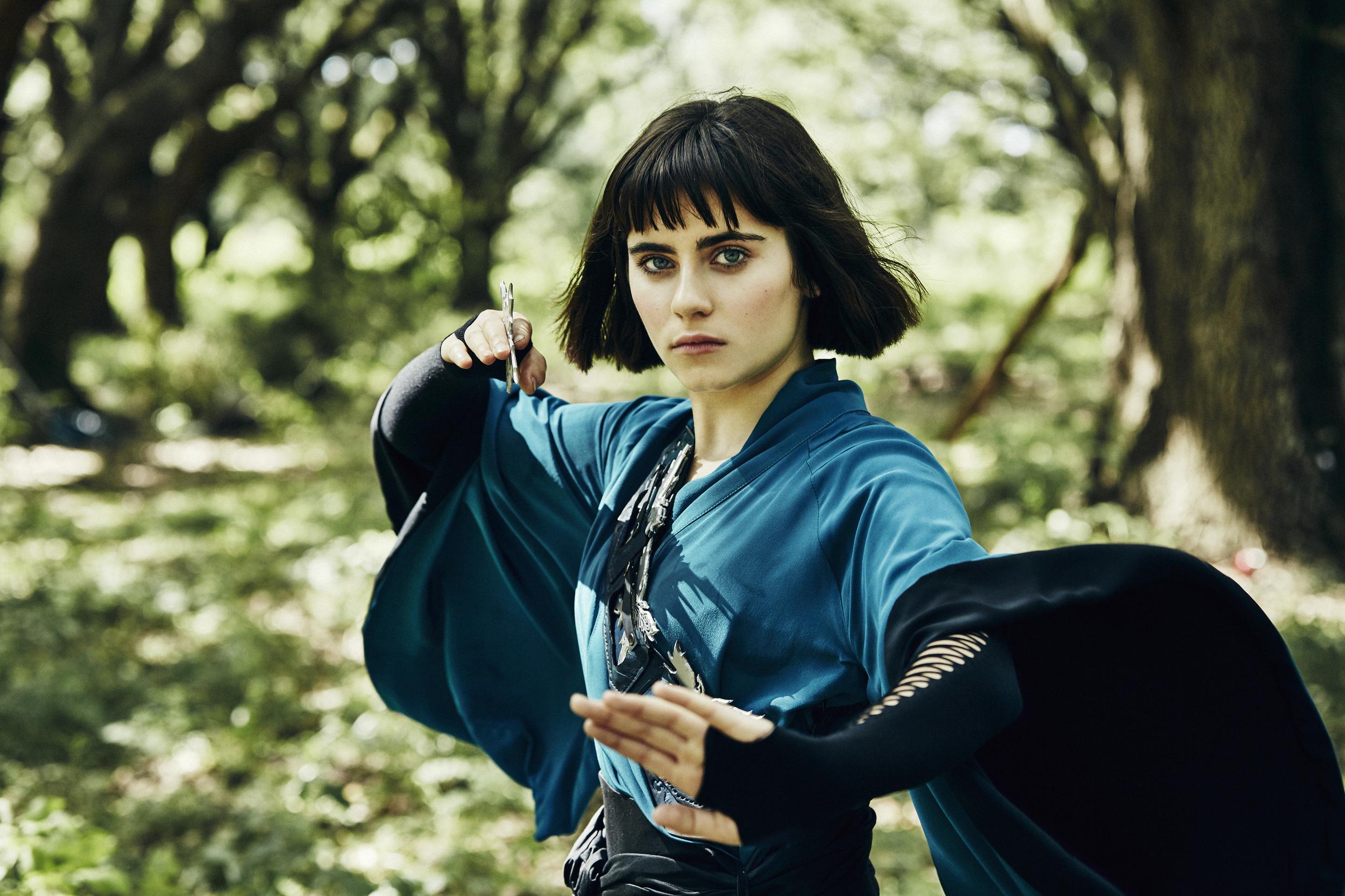 Ally Ioannides as Tilda. Credit: Patti Perret/AMC